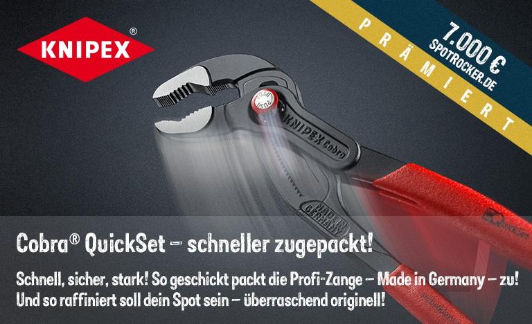 KNIPEX Kampagne prämiert!