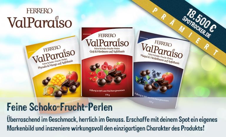 Ferrero ValParaiso Kampagne prämiert!