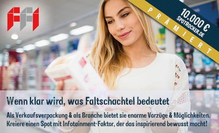 FFI Faltschachtel Kampagne prämiert!