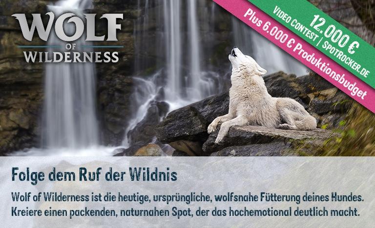 Wolf of Wilderness / SPOTROCKER: Packender 18.000 € Video Contest