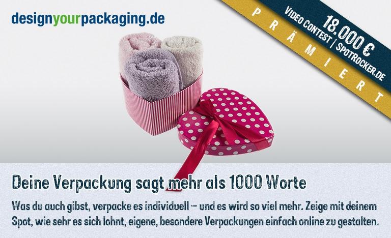 DesignYourPackaging Kampagne prämiert!