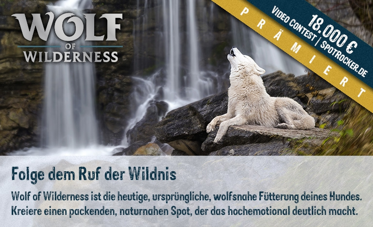 Wolf of Wilderness Kampagne prämiert!