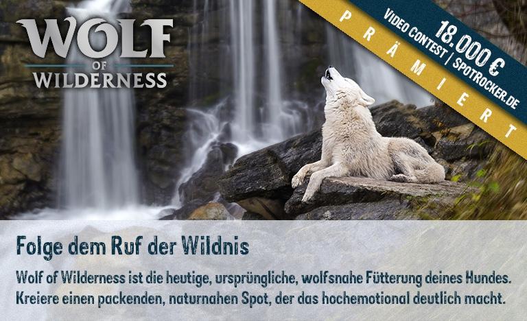 Wolf of Wilderness Kampagne prämiert!