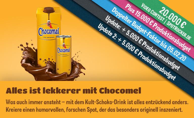 Chocomel / SPOTROCKER: Supergroßer, origineller 35.000 € Video Contest