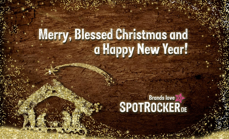 SPOTROCKER - Merry Christmas and a Happy New Year